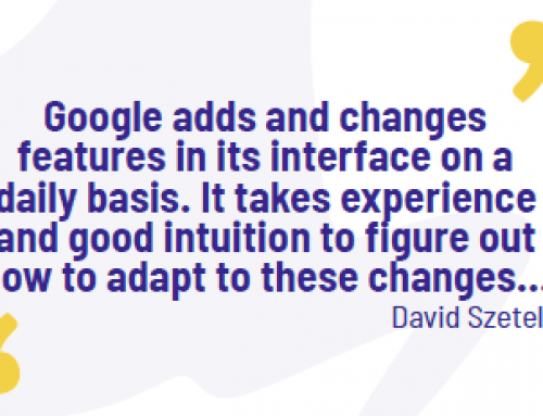 How do you keep up with the pace of change in Paid Search?
