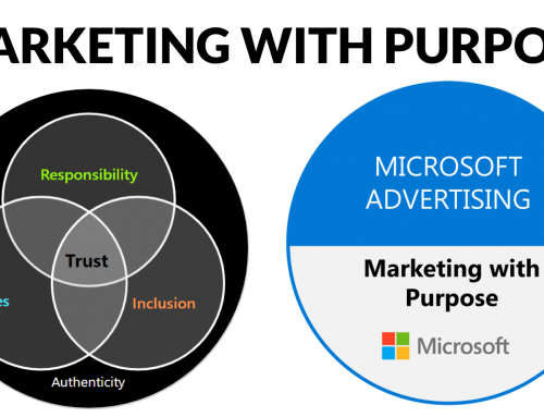 Searching for Purpose? Here comes 'Marketing with Purpose', starring Responsibility, Values and Inclusion